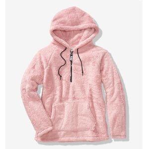 Victoria's Secret PINK Medium Sherpa Half Zip